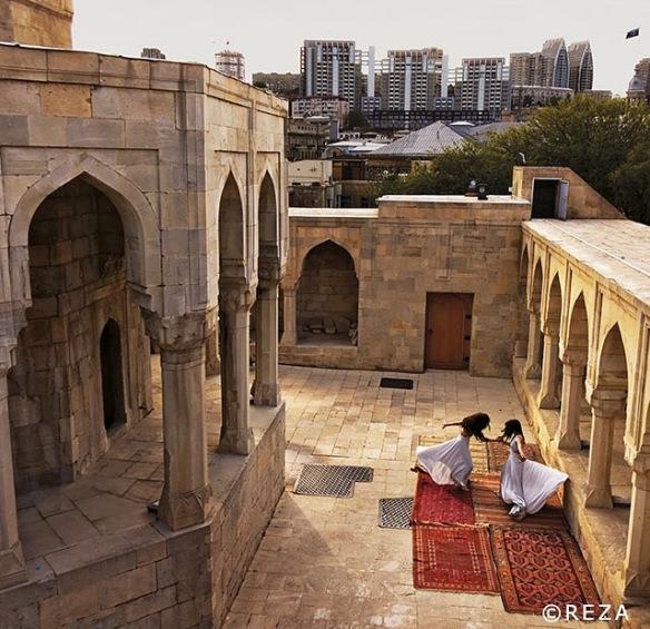 Azberbaijan, spanish, arabian, architecture, arabesque, islamic art