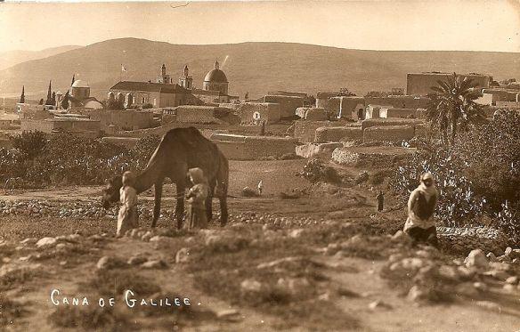 Kefr Kanna, Cana, Galilee, Palestine, female, Photographer