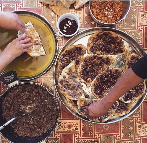 Musakhan, Arabian, Foodie