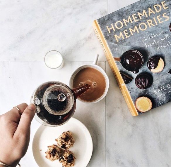 coffee, book, break, foodie