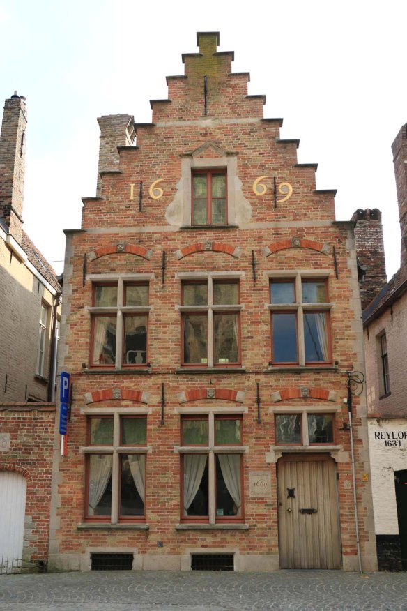 house, bruges, architecture