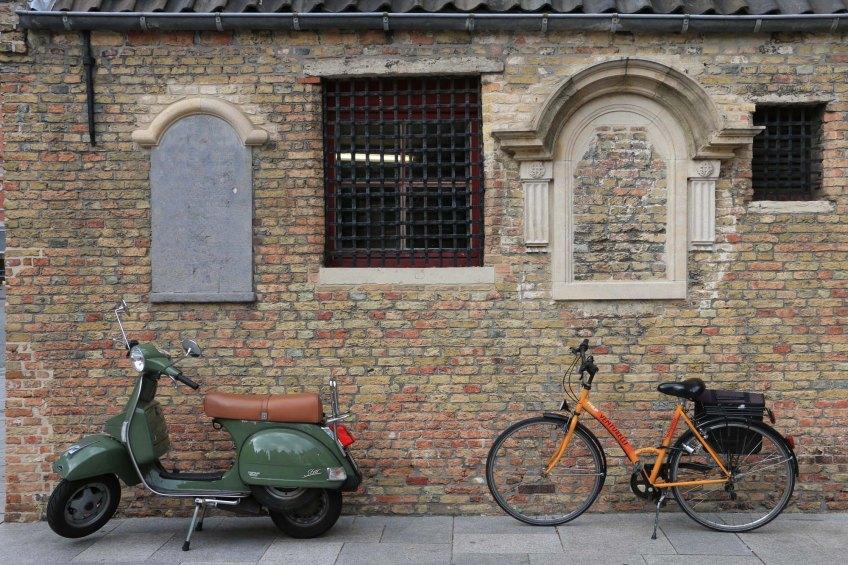 bruges, bicycles