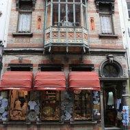 architecture, bruges, shops