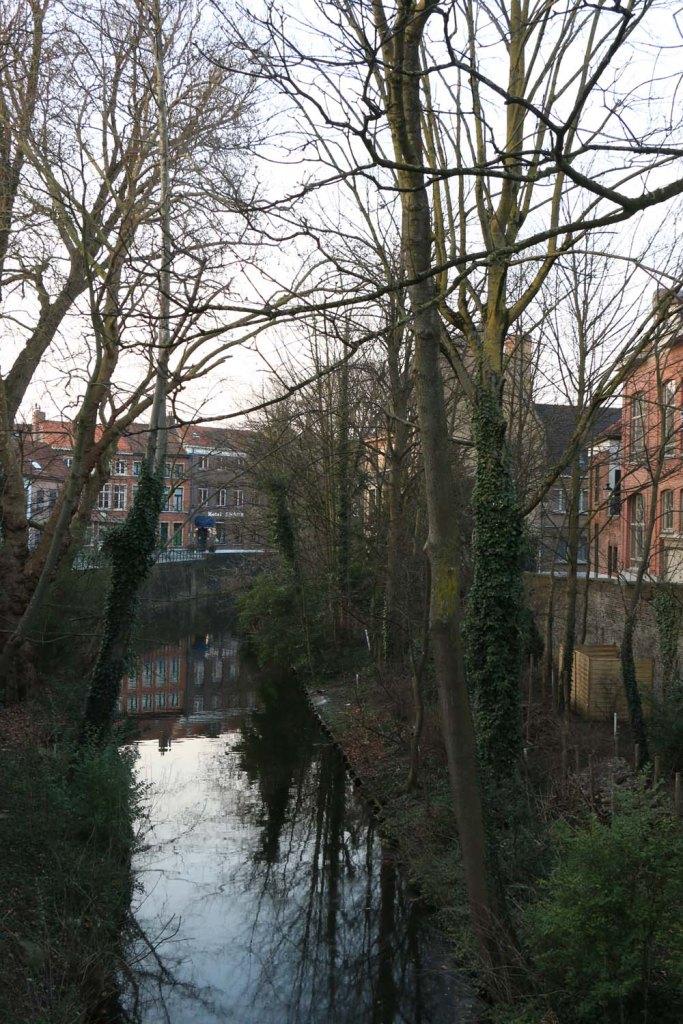 canal, lake, bruges