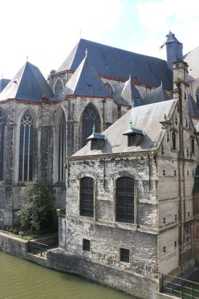ghent, architecture