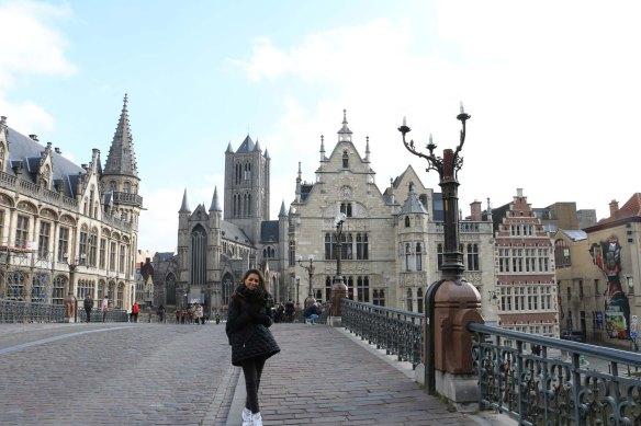 ghent, belgium, architecture