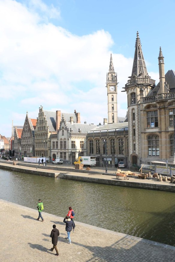 ghent, canal
