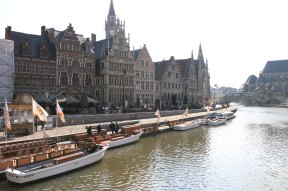 canal, ghent