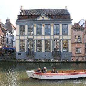 boat, canal