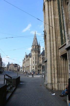 ghent, architecture, belgium