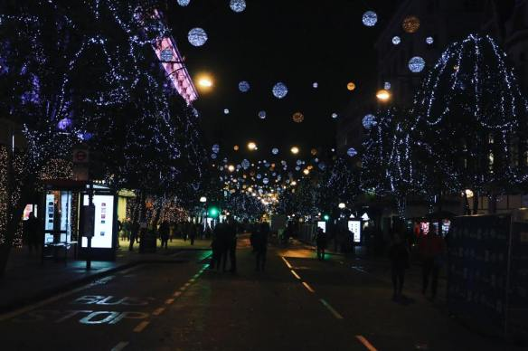 Oxford Street, London, Christmas, Lights