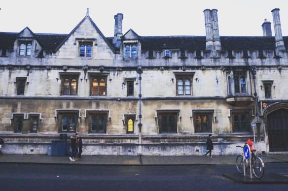 Oxford, houses, architecture, art