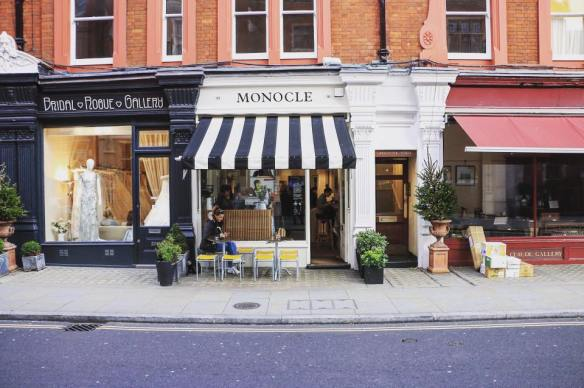 Monocole, London, Cafe
