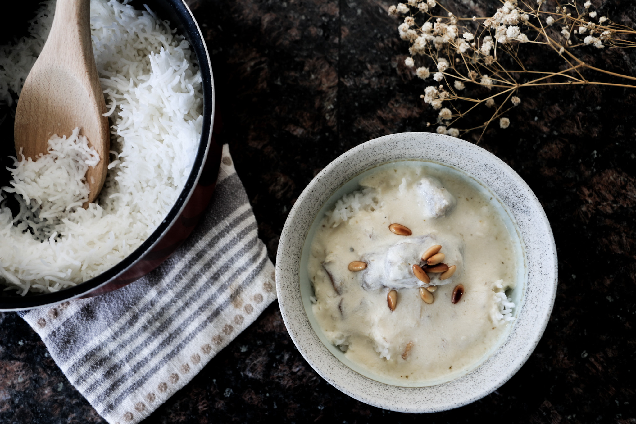 Levantine Recipe: Yogurt Stew (Shakriyeh)