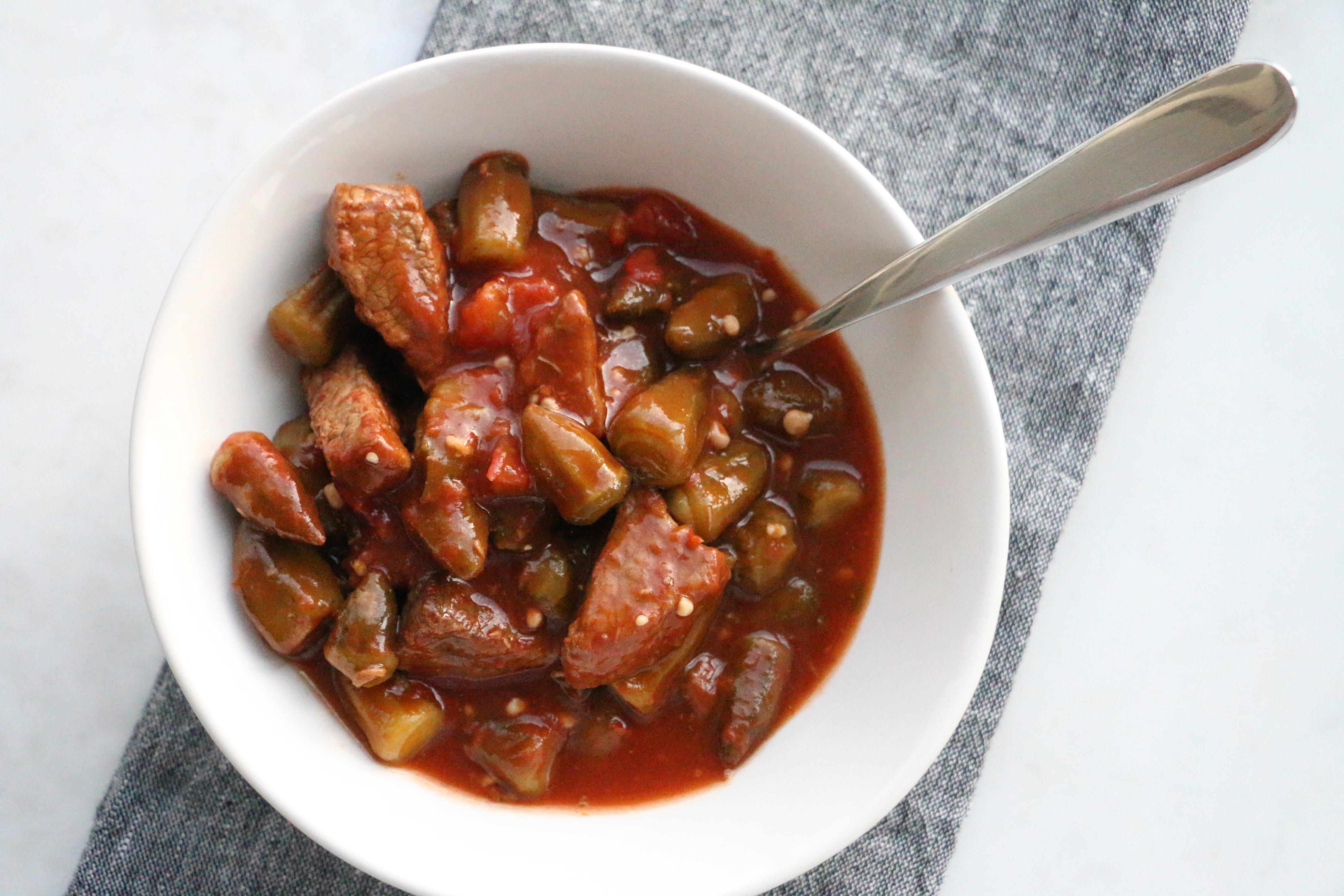 Levantine Okra Stew